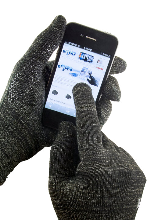 Ladies /& Mens Touch Gloves with Silver Coated Warm Magic Touch Smart-Iphone lot